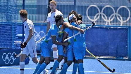 ટોક્યો ઓલિમ્પિકમાં ભારતીય મેન્સ હૉકી ટીમનું શાનદાર પ્રદર્શન