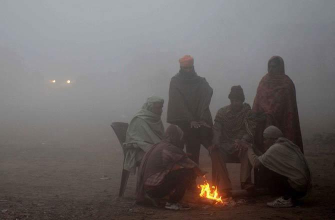 ગુજરાતમાં કૉલ્ડવેવનું મોજું ફરી વળ્યું છે