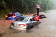 US Flood:અમેરિકામાં વરસાદે મચાવ્યો કહેર, વ્હાઈટ હાઉસમાં પણ ભરાયા પાણી