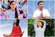 ગુજરાતી સેલેબ્સે આ રીતે સેલિબ્રેટ કર્યો યોગ દિવસ, જુઓ તસવીરો