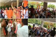 Gujarat Lok Sabha Election 2019 : ગુજરાત ભાજપે કરી ઉજવણી, જુઓ તસવીરો
