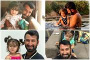 ઉમદા ક્રિકેટરની સાથે પ્રેમાળ પિતા છે ચેતેશ્વર પુજારા, આ તસવીરો છે પુરાવો