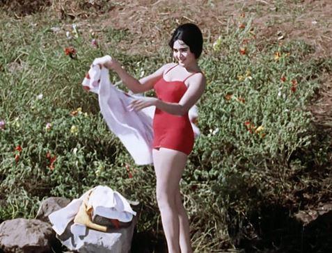 ઝીનત અમાન: હીરા પન્ના ફિલ્મમાં ઝીનત અમાન બિકિનીમાં લૂકમાં ઘણી કમ્ફર્ટેબલ નજર આવી રહી છે. એક્ટ્રેસ ઝીનત અમાન એક એવું નામ છે જેમને બૉલીવુડમાં બૉલ્ડનેસ અથવા હોટ લૂકની શરૂઆત કરી છે તો ખોટું નથી. આ હૉટ લૂકના લીધે તે ઘણી હિટ થઈ અને મેગેઝિનના કવરપેજ પર પણ નજર આવી એટલે એનું નામ કવર ગર્લ પડી ગયું.