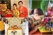 Ganesh Chaturthi 2020: ફિલ્મ અને ટીવીના કલાકારોનાં ઘરે બિરાજેલા ગણેશજી પર એક નજર