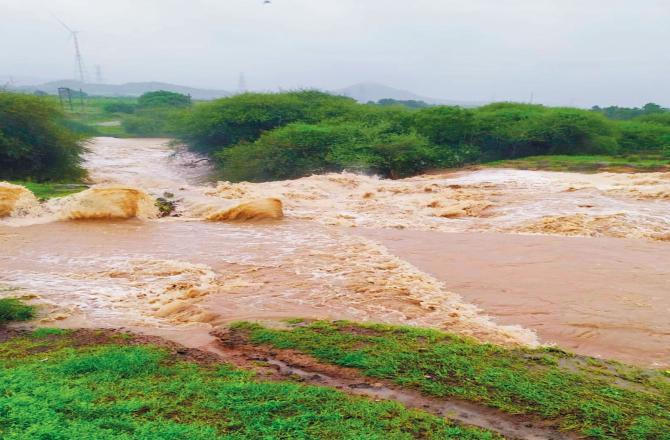 બે દાયકાથી કચ્છના વરસાદની પેટર્ન બદલાઈ રહી છે