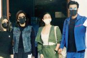 રણબીર, આલિયા, નીતૂ કપૂર અને રિદ્ધિમા તસવીર સૌજન્ય - મિડ-ડે