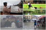 મૂશળધાર વરસાદમાં મુંબઈના હાલ-બેહાલ, જુઓ તસવીરો