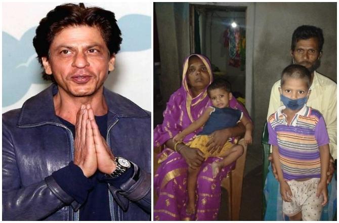 શાહરૂખ ખાન અને મીર ફાઉન્ડેશને મદદ કરી તે બાળક તેના પરિવાર સાથે