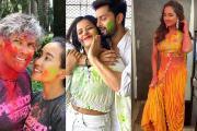 Celebrity Holi 2020: હોળી બાદ હજી પણ ચમકે છે સિતારાઓનાં રંગબેરંગી ફોટગ્રાફ્સ