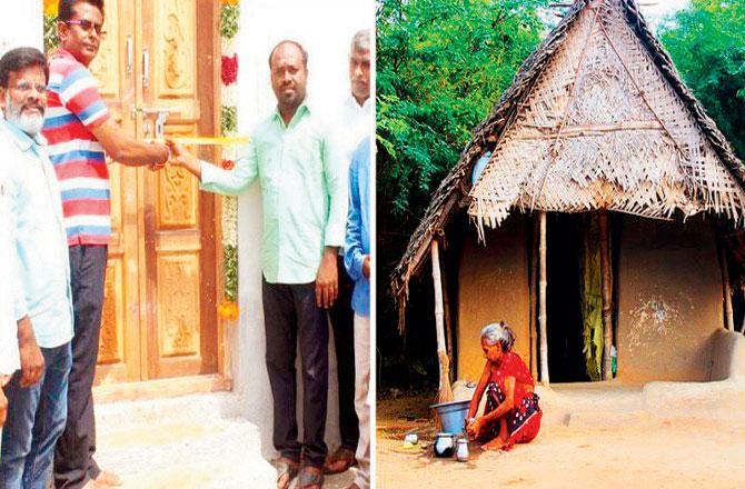 મિત્રોએ પોતાના ગરીબ મિત્ર માટે ઘર બનાવ્યું