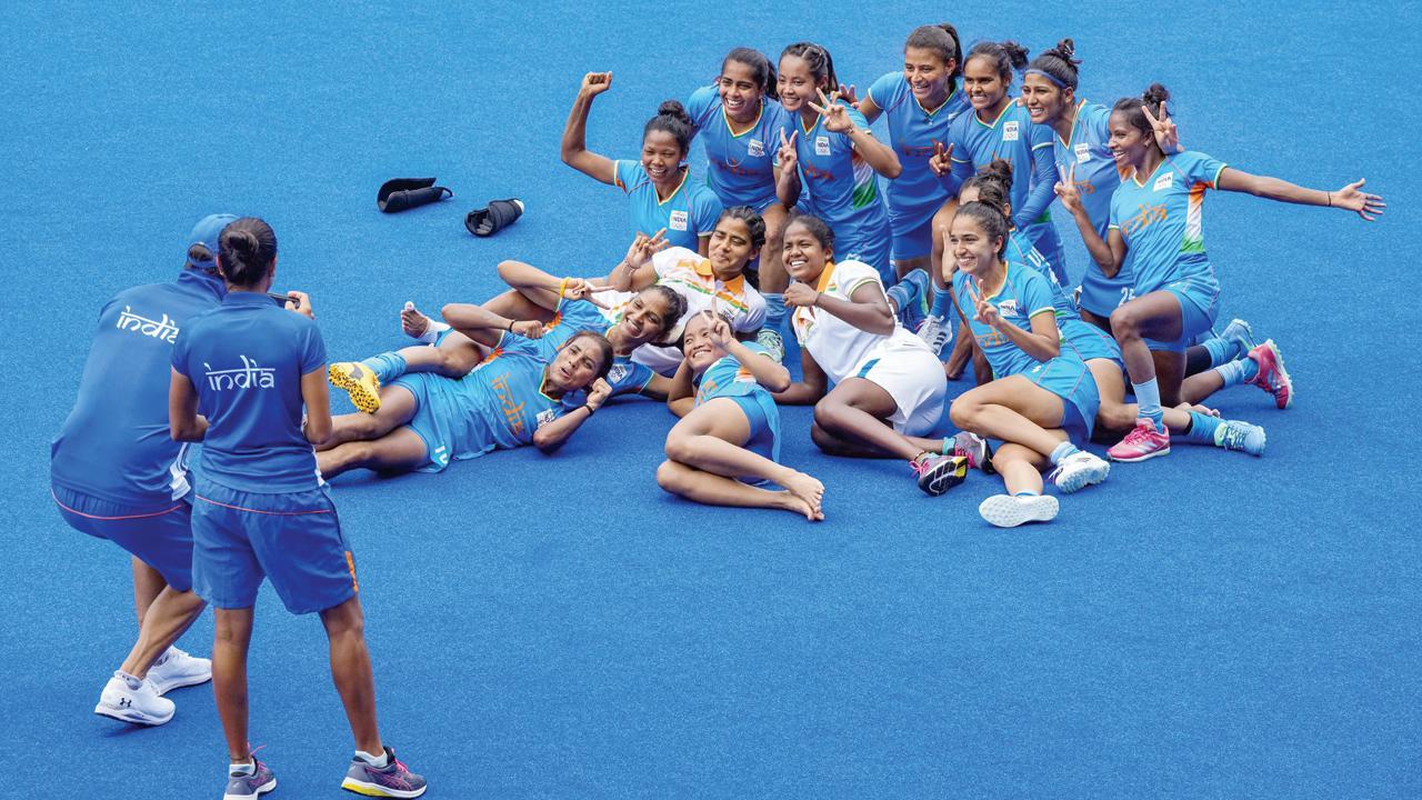 ભારતીય મહિલા હૉકી ટીમ