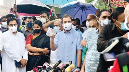 પેગસસને વાપરીને કેન્દ્રએ લોકતંત્રના આત્મા પર પ્રહાર કર્યો : રાહુલ ગાંધી