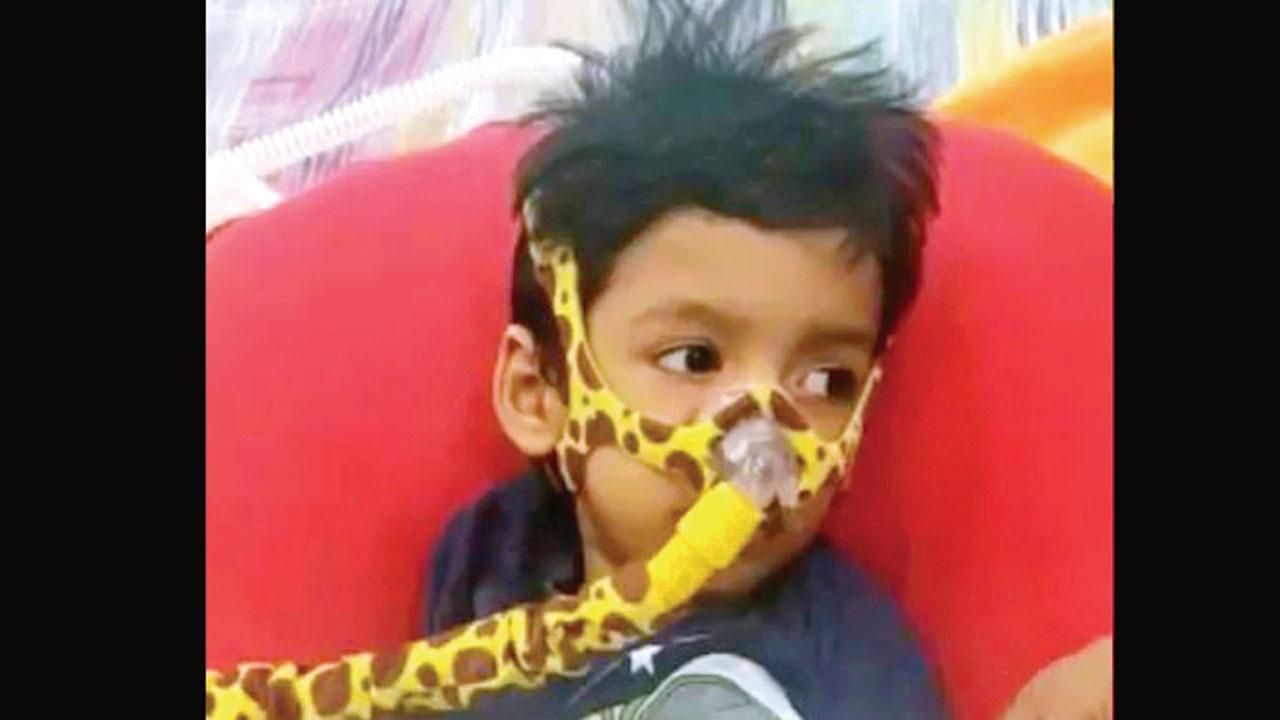 હૈદરાબાદના આ બાળકને અપાયું ૧૬ કરોડનું ઇંજેકશન