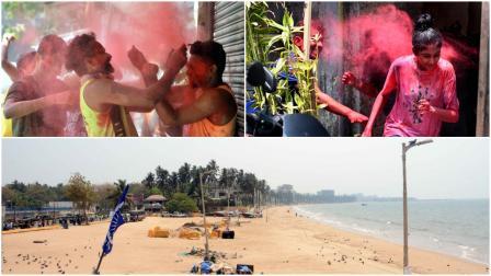 Holi 2021 : હોળીના રંગે રંગાયા મુંબઇકર જુઓ તસવીરો