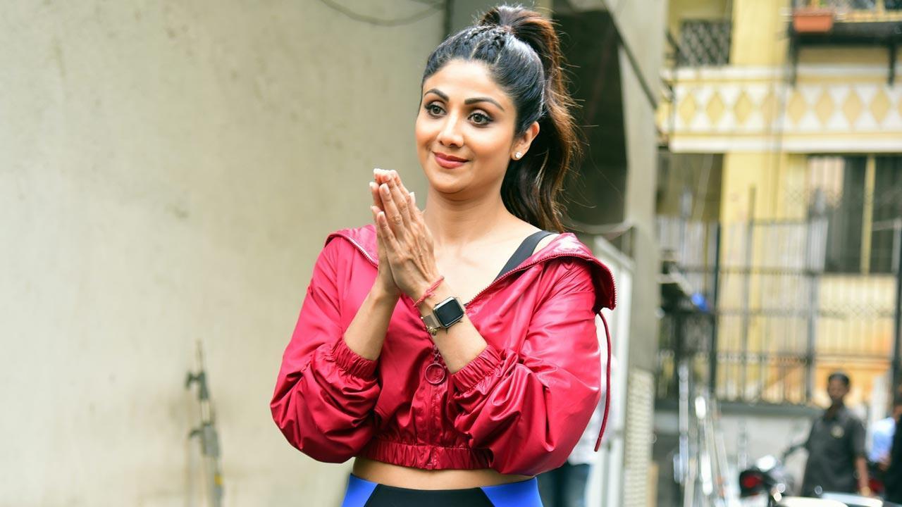 શિલ્પા શેટ્ટી (તસવીર સૌજન્ય મિડ-ડે)