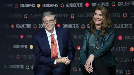 બિલ ગેટ્સ અને તેની પત્ની મેલિંડા ગેટ્સ (તસવીર સૌજન્યઃ એએફપી)