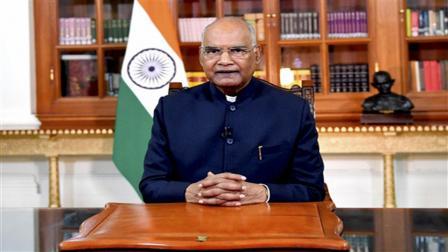 રાષ્ટ્રપતિ રામનાથ કોવિંદ. ફાઇલ ફોટો/પીટીઆઈ
