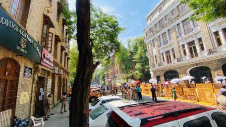 બેલાર્ડ એસ્ટેટ, મુંબઈ ખાતે નાર્કોટિક્સ કંટ્રોલ બ્યુરોની ઓફિસ. ફાઈલ તસવીર/શાદાબ ખાન