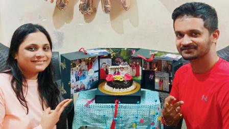 યુએસથી જયમિને અચાનક કાંદિવલી પહોંચી જિનલ અને તેના પરિવારને સરપ્રાઇઝ આપીને જન્મદિવસ ઊજવ્યો હતો.