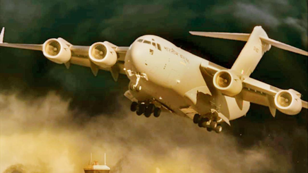 અફઘાનિસ્તાનના ઍરલિફ્ટ મિશન પરથી બનાવવામાં આવશે 'ગરુડ'