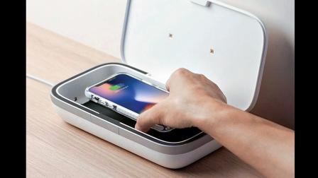 અલ્ટ્રાવાયલેટ કિરણોથી સૅનિટાઇઝ કરો સ્માર્ટફોનને