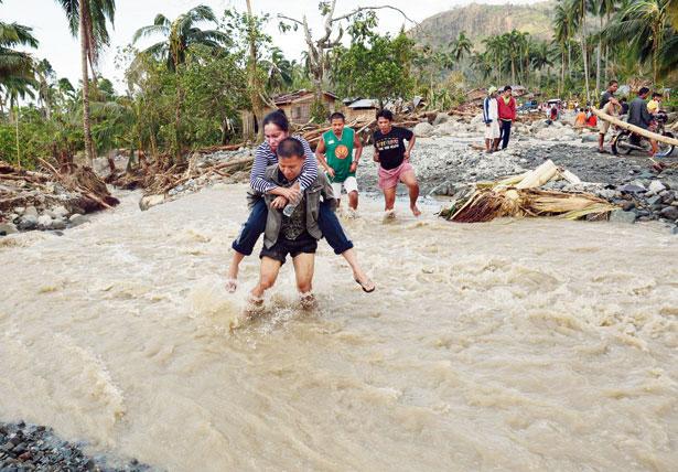 ફિલિપીન્સમાં વાવાઝોડાએ સરજ્યો વિનાશ : ૨૮૦નાં મોત