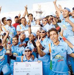 અંધ પ્લેયરોના પ્રથમ T20 વર્લ્ડ કપ પર ભારતનો કબજો