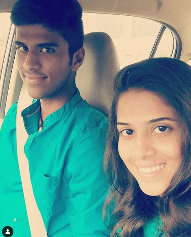 Washington Sundar And Sister Shailaja Are A Super Sibling Duo