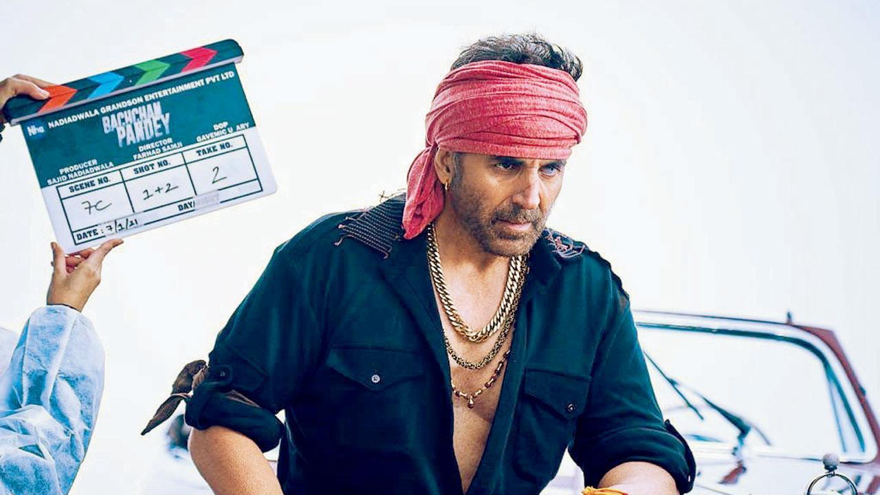 10 ka dum! Bachchan Pandey - Akshay Kumar's 10th film with producer Sajid Nadiadwala