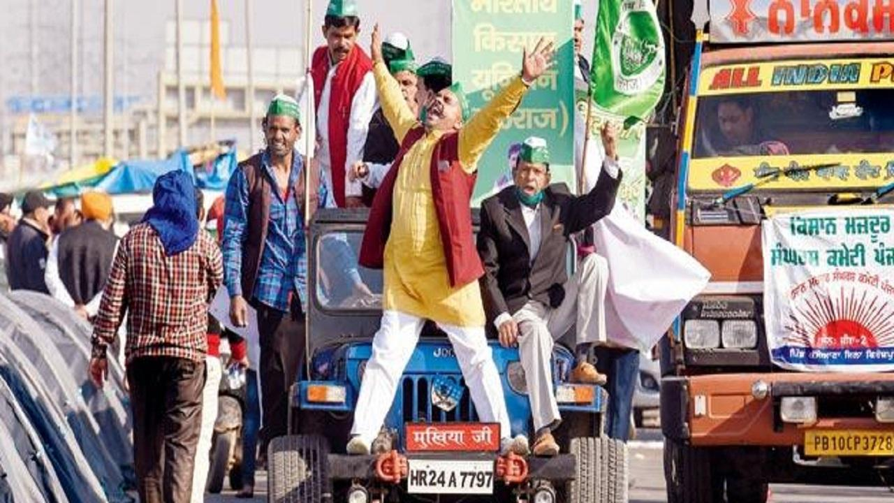 Delhi: Farmers hold tractor march, say it is 'rehearsal' for January 26